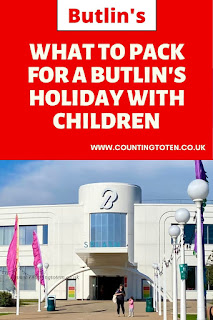 What to pack for a Butlin's holiday with children
