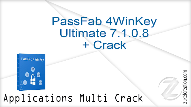 PassFab 4WinKey Ultimate 7.1.0.8 + Crack