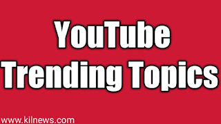 YouTube trending topics