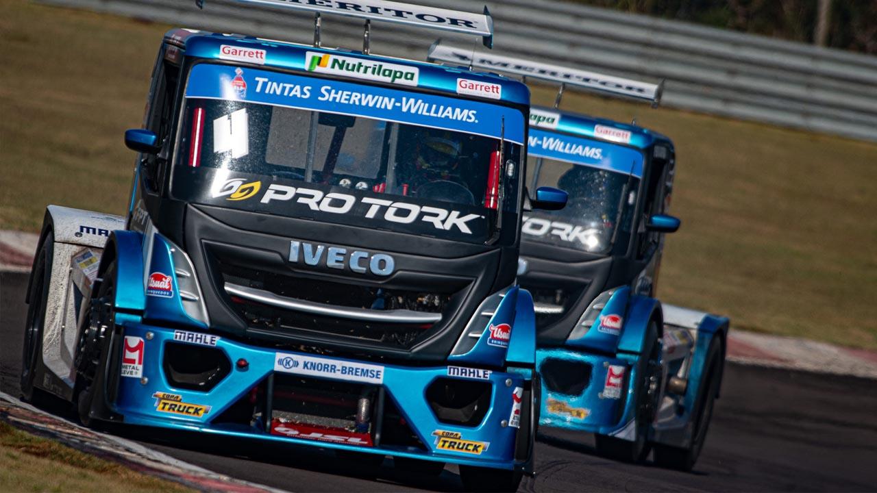 Equipe de Laranjal Paulista encara desafio na pista de Potenza em busca do título da Copa Truck