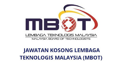 Jawatan Kosong Lembaga Teknologis Malaysia 2019 (MBOT)