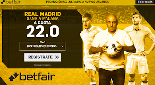 betfair supercuota Real Madrid gana a Malaga 15 abril