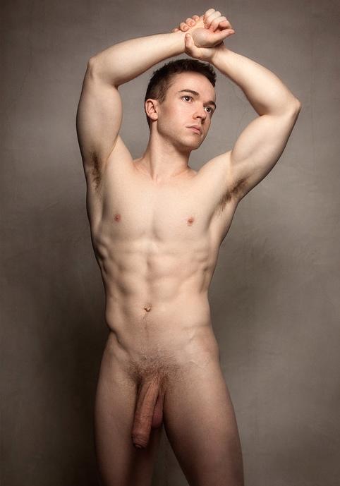Sportsman Bulge Naked  Foreskin Male Nude-6563