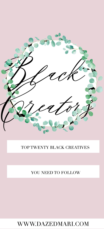 black creators, black creatives, blm