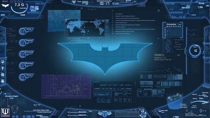 Papel de Parede PC Bat Computador