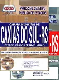Apostila Câmara de Caxias do Sul 2018 Estágio