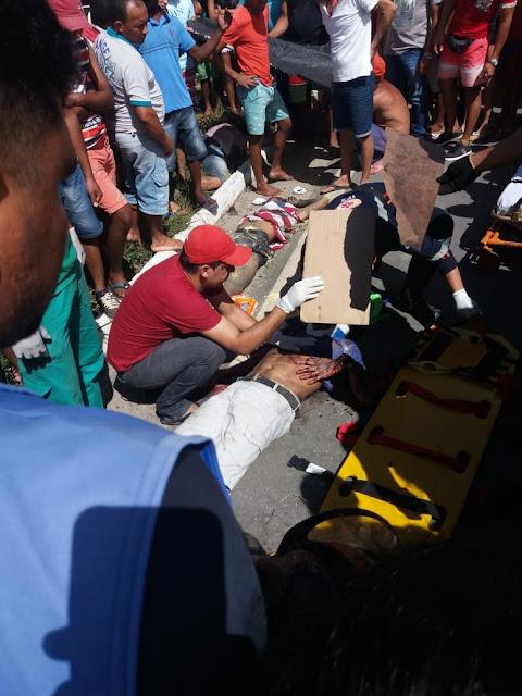 Grave acidente deixa dois mortos e um ferido na BR-101, em Ribeirão