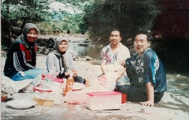 Beraya sendirian di Papar, Sabah pada 1998