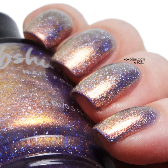 xoxoJen's swatch of KBShimmer RV There Yet?