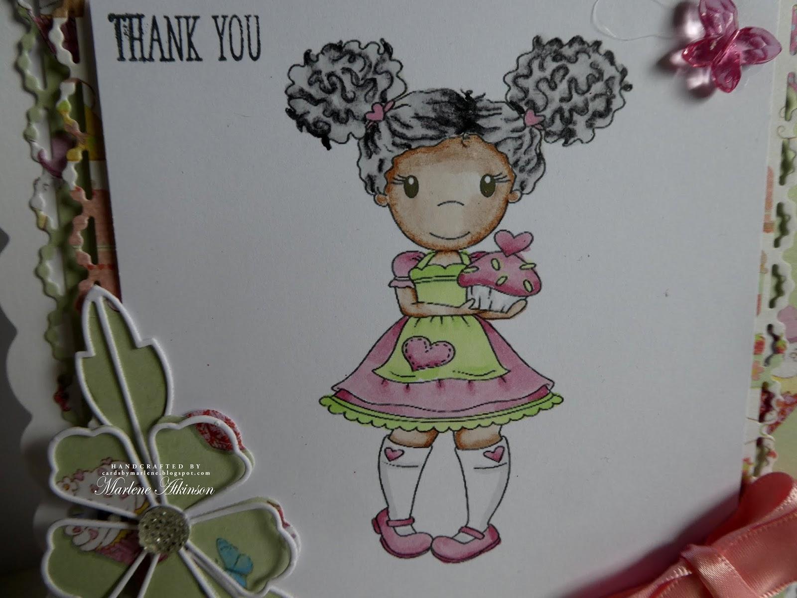 Tattered Lace Little Miss muffett Die Cuts X 6