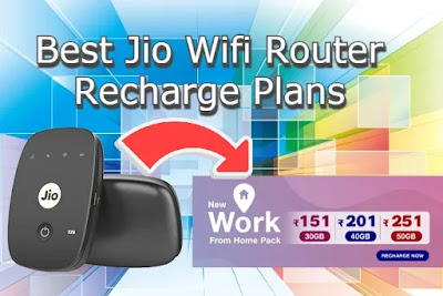 Jio Wifi Router Plans