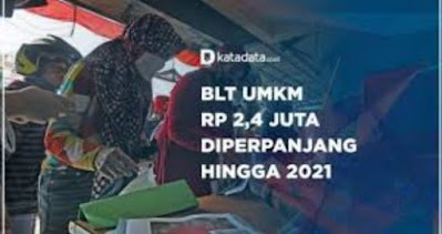 cara syarat terbaru daftar blt umkm 2020 2021