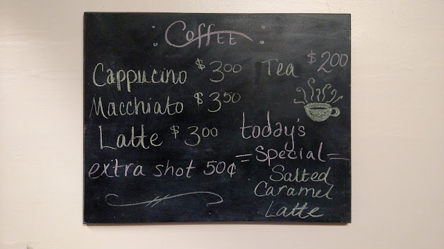coffee chalkboard menu home