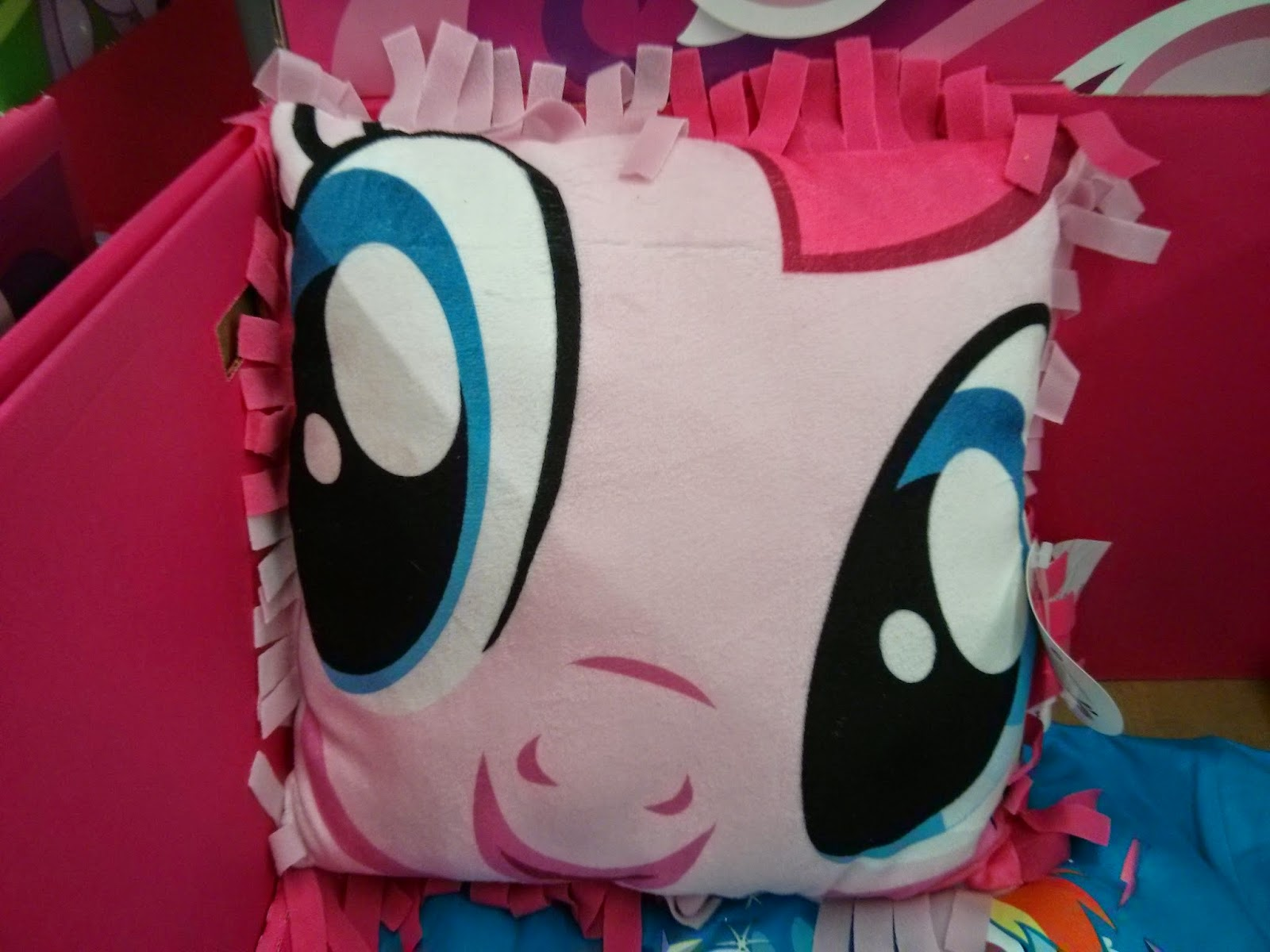 Giant Pony Face Pillows At Walmart