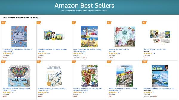 Amazon Best Sellers Landscape Painting 070820
