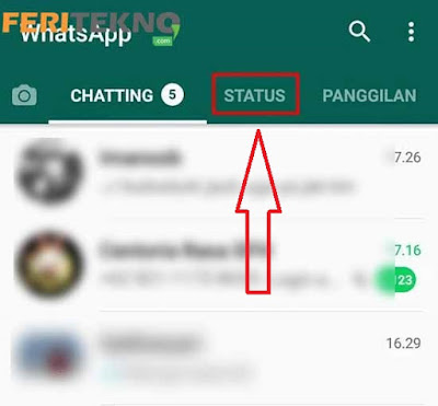 Cara Hide Story WhatsApp 7