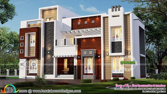 Luxurious decorative contemporary home
