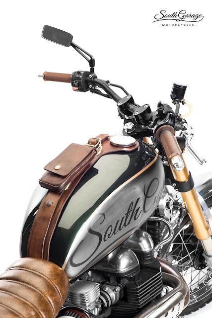 Triumph Scrambler By South Garage Motorcycles Hell Kustom