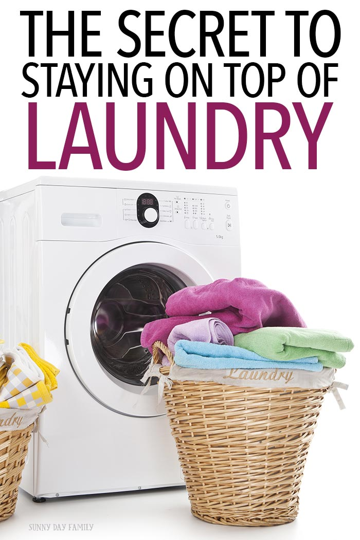 Stay on top of your laundry with these easy tips! Learn how to make a laundry schedule, get a printable laundry checklist, and get in a laundry routine that works for you. Find laundry hacks and laundry tips too!