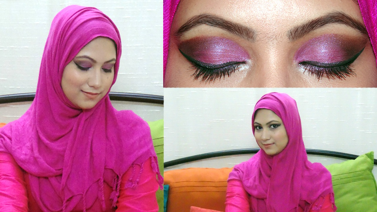 My obsession eid makeup tutorial 2016 arabic pink eye makeup look eid makeup tutorial 2016 arabic pink eye makeup look baditri Image collections