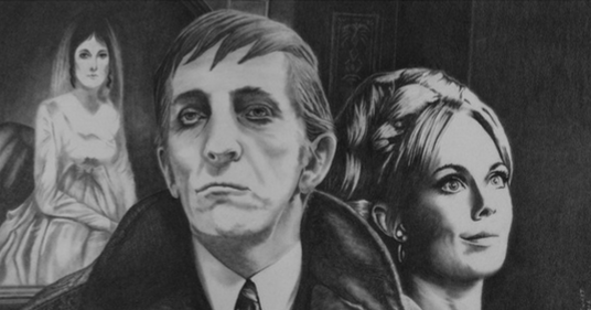 Shadows on the Wall: An Online Dark Shadows Fanzine: Josette, Barnabas, and  Angelique Fan Art