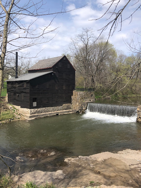 Pine Creek Grist Mill stands as a reminder of the past.