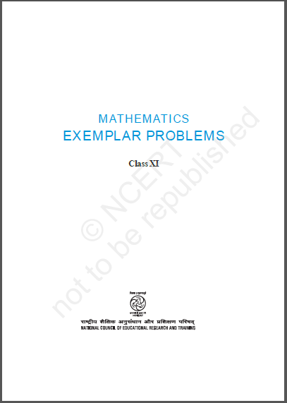 NCERT Exemplar Mathematics Class- 11 : For JEE and NEET Exam PDF Book