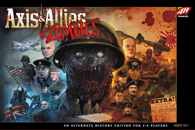 Axis & Allies & Zombies (box cover)