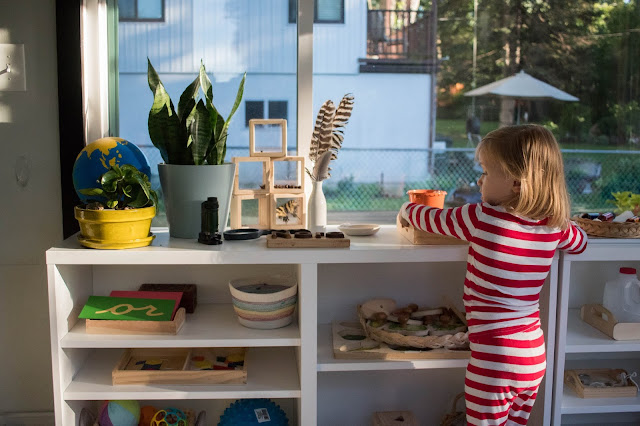 5 things that I do everyday as a Montessori parent - routines and habits that support our Montessori home