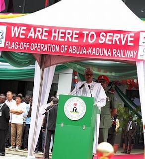 Abuja-Kaduna Train Services