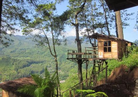 tempat wisata omah kayu batu malang