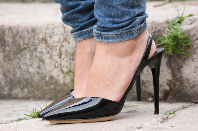 ZAPATOS STELLA MCCARTNEY NEGROS CHAROL