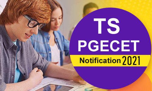 Telangana PGECET Notification 2021