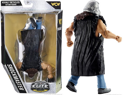 "San Diego Comic-Con 2016 Exclusive WWE Elite The Shockmaster 6"" Action Figure by Mattel"