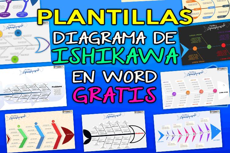 Plantillas diagrama de Ishikawa editables en Word gratis