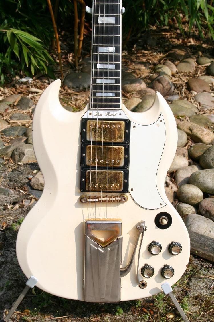 The Unique Guitar Blog: The Gibson SG - A Most Unique Guitar