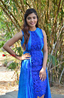 Tamil Actress Sanchita Shetty Latest Pos in Blue Dress at Yenda Thalaiyila Yenna Vekkala Audio Launch  0006.jpg