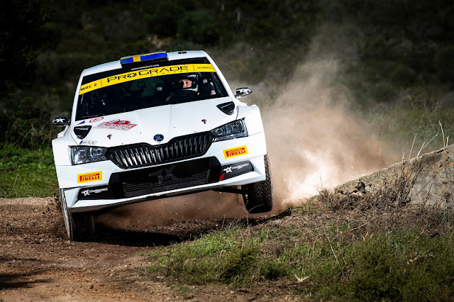 Skoda Fabia R5 Rally Racing Car