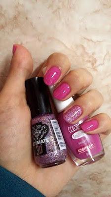 esmalte da semana, colorama, ultimate 3D, toque retoque, Erika Lots, unhas, nails