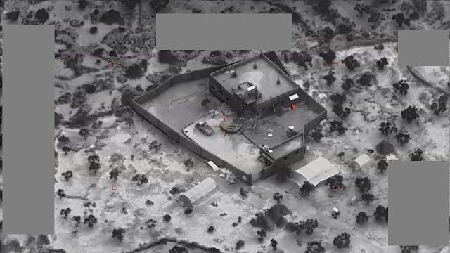الجيش الأمريكي ينشر فيديو عملية قتل البغدادي زعيم داعش وكيف انتحر بقنبلة مع طفلين .. شاهد الفيديو الأن