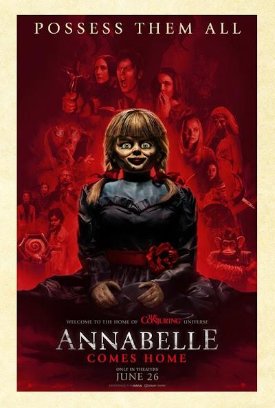 تفاصيل فيلم Annabelle Comes Home 2019