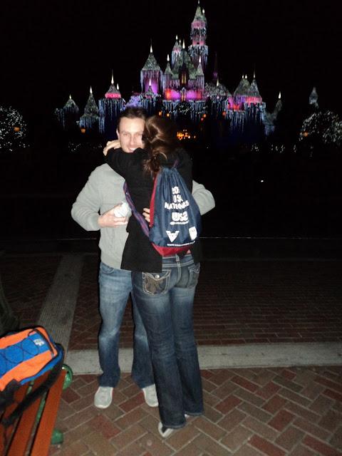 Real Disneyland Proposal - Ashley and Steve