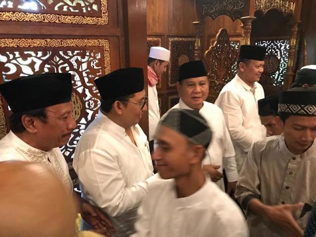 Minta Jurnalis Tidak Liput Shalat Idul Fitri, Ini Alasan Mengagumkan Prabowo