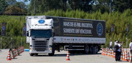 Motoristas classificados para semifinal do Scania Driver Competitions já estão definidos