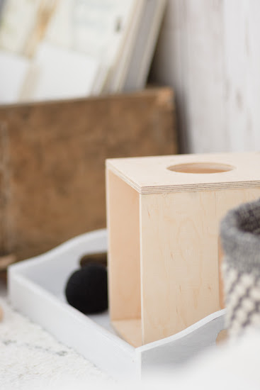 drewniany sorter DIY