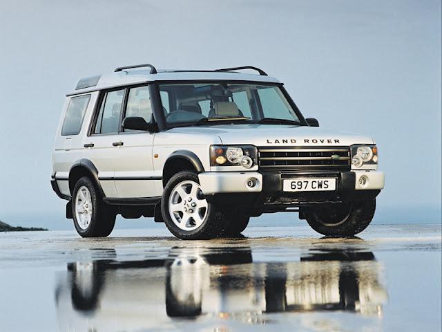Land Rover dưới thời Ford