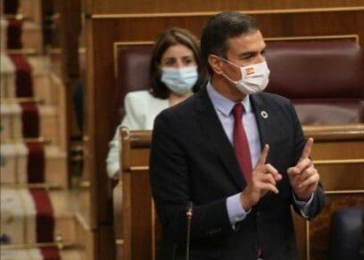 "Sánchez contesta a Casado: ""Señoría toda España Sabe que ustedes taparon un delito con otro"""