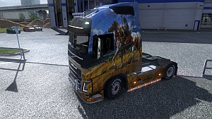 Apaches skin for Volvo FH 2012