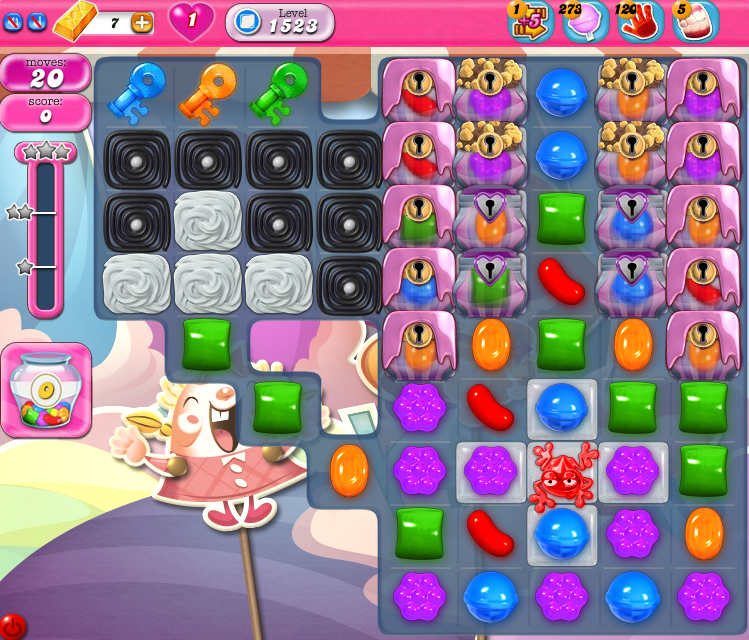 Candy Crush Saga 1523