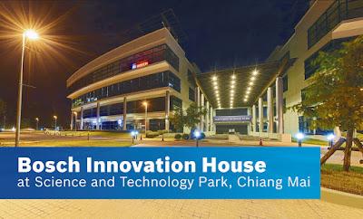Bosch เปิด Bosch Innovation House ณ อุทยานวิทยาศาสตร์และเทคโนโลยี มหาวิทยาลัยเชียงใหม่ ตอกย้ำพันธสัญญาด้านนวัตกรรม